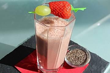 Low carb Protein-Shake mit Schoko-Geschmack