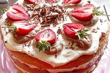 Yogurette-Torte