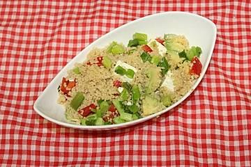 Couscous-Avocado-Salat