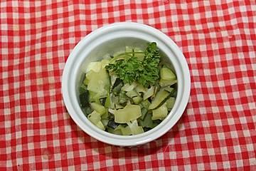 Smokeys Zucchini-Zitronen-Gemüse