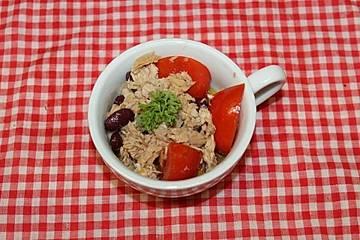 Proteinsalat, fettarm