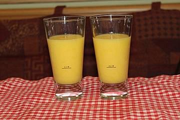 Mango-Honigmelone Smoothie