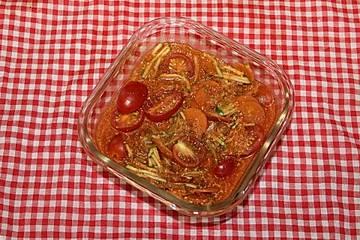 Möhren-Zucchini-Gemüsepfanne