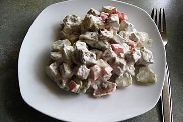 Schwedischer Rindfleischsalat
