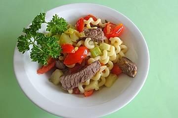 Rindfleisch - Nudel - Salat