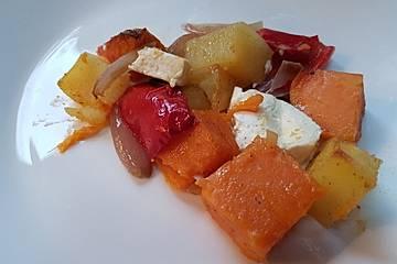 Süßkartoffel - Auflauf