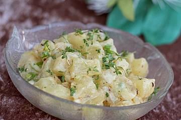 Harzer - Käse - Salat