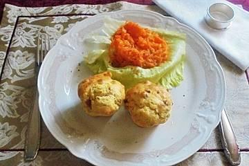 Speck-Muffins mit Buttermilch und Parmesan