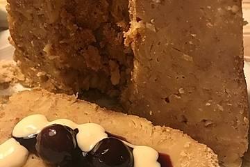 Mehlbüddel-Biestmelk-Nuddelpudding aus Nordfriesland