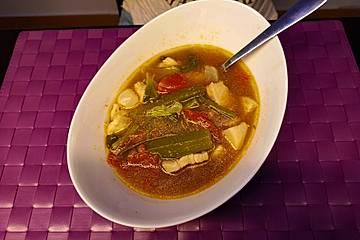 Sinigang na Baboy - Philippinische Suppe mit Schweinefleisch