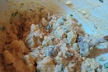 Kartoffelsalat à la Schnauder mit Kichererbsen