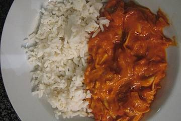 """Vegetarisches indisches Butter-""""Chicken"""" mit Jackfruit"""