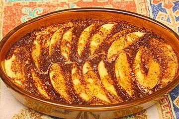 Apfel-Quinoa-Auflauf