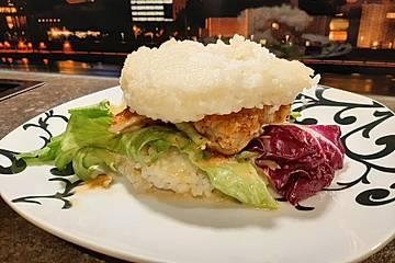 Geflügel-Reis-Burger