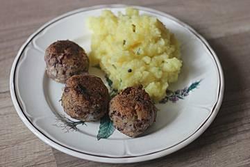 """""""Bohnetten"""" - vegane Frikadellen/Bouletten"""