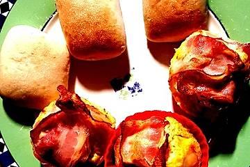 Eiermuffins aus der Heißluftfriteuse