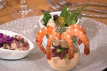 Shrimp-Polvo - Tintenfischsalat (Salada de Polvo)