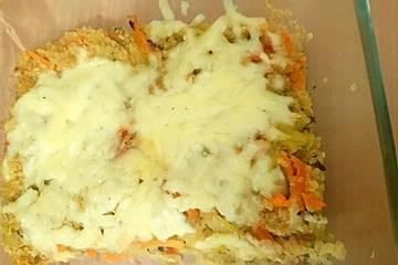 Saftiger Quinoa-Auflauf