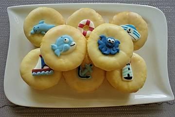 Leckere Zitronenmuffins