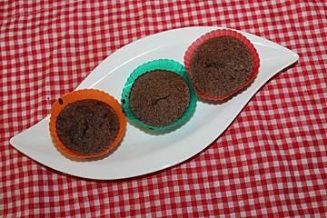 Schokoladen-Muffins ohne Zucker und Mehl