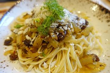 Pasta con le Sarde - Gemelli mit Sardinen