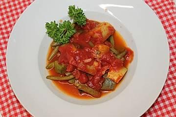 Gemüse-Bohnen-Pfanne