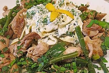 Parmesan - Zitronen - Huhn mit frischen Kräutern