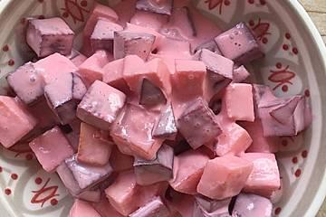 Rote Bete-Schmand-Meerrettich-Salat