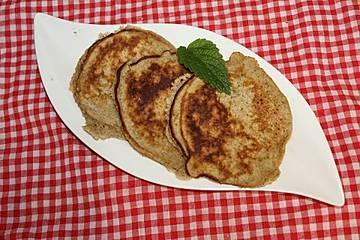 Pfannkuchen mit Teffmehl