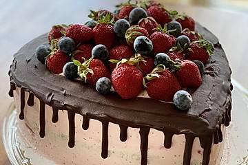 Erdbeer-Muttertagstorte