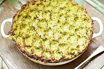 Erbsen-Fisch-Kuchen