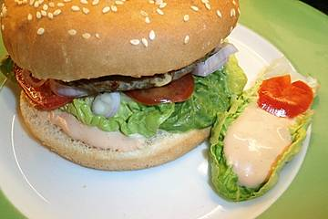 Die perfekte Burgersauce