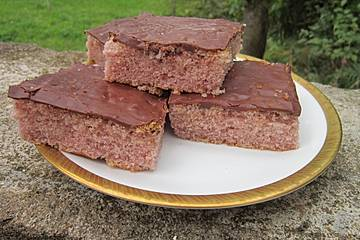 Rotweinkuchen vom Blech