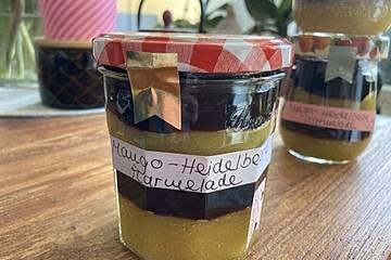 Mango-Heidelbeer-Marmelade