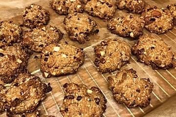 Buchweizen-Mandel-Kekse