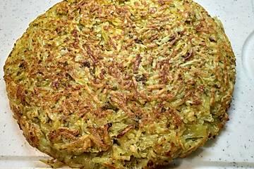 Kartoffelkuchen nach Alain Passard