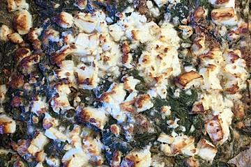 Spinat-Feta-Kuchen vom Blech
