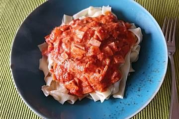 Mortadella-Tomaten-Sauce