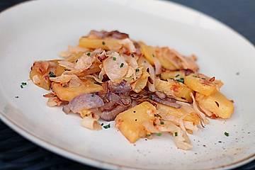 Kartoffel-Kohl-Pfanne
