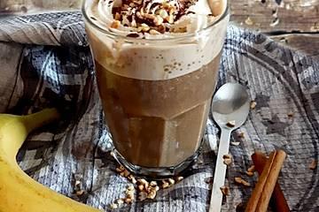 Kaffee-Smoothie mit Protein