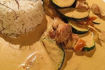 Tandoori - Fleisch in raffinierter Joghurtsoße