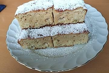 Low Carb Apfel-Quark-Protein-Kuchen