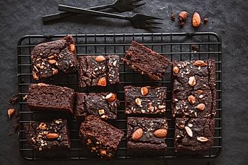 Einfache Kichererbsen-Brownies