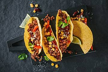 Schnelle Tacos mit Smokey-Beef-Füllung