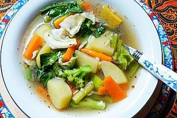 Indonesische Gemüsesuppe - Cap Cay Kuah