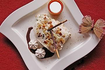 Apfel - Tiramisu mit Krokant