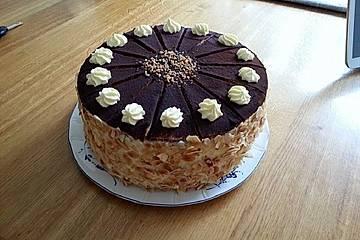 Beschwipste Baileys - Torte