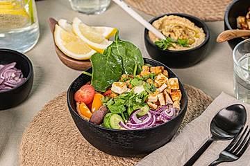 Veggie Hummus Bowl