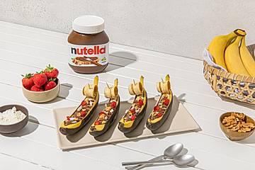 Bananen-Boote mit nutella®