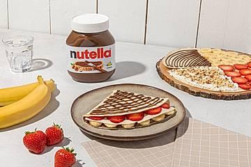 Süße Tortillas mit nutella®